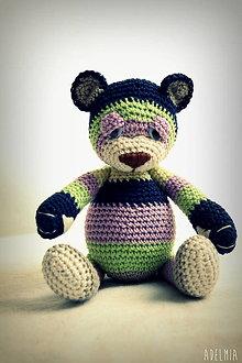 Hračky - háčkovaný medveď Ulrich - 6882422_