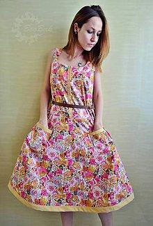 Šaty - Pre kvetovú vílu, šaty - ZĽAVA! - 6883893_