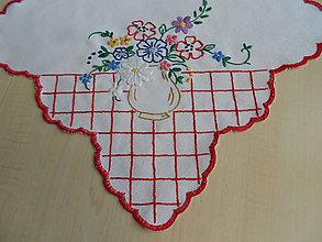 Úžitkový textil - Prestieranie lúčne kvietky - 6883927_