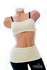Nohavice - Legíny so  štýlovým pásom - 6885879_