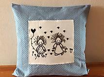Úžitkový textil - crazy vankúšik - 6884767_