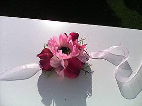 """Náramky - Kvetinový náramok """"V kvetinovej záhrade..."""" - 6883015_"""