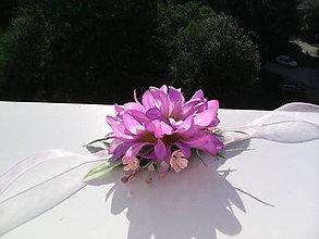 """Náramky - Kvetinový náramok """"...zvončeky jemne zvonia..."""" - 6883215_"""