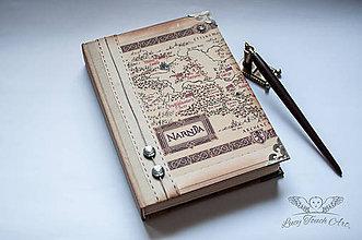 "Papiernictvo - Diár ""Narnia"" / na zákazku:) - 6885158_"