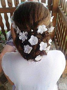 Ozdoby do vlasov - Kvety do vlasov - 6884118_