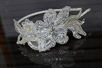 Ozdoby do vlasov - Wedding Lace Flower Collection ... čelenka - 6889211_