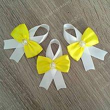 Pierka - Pierka na svadbu citrónovo žlté - 6887452_