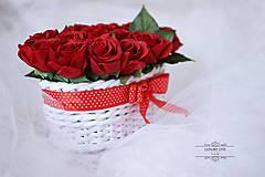 Kytice pre nevestu - kvetinový box