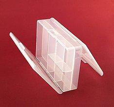 Pomôcky/Nástroje - Mini organizér- obojstranný /10,4x6,8x3 cm - 6886468_