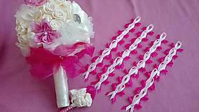Kytice pre nevestu - Na objednávku vyrobím sadu aj pre Vás - 6888933_