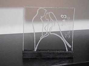 Darčeky pre svadobčanov - darček pre svadobných hostí sklo 1 - 6885991_