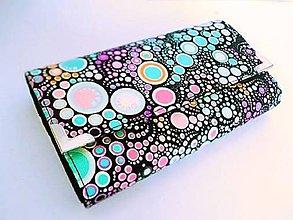 Peňaženky - Bublinky - peněženka i na karty - 6888258_