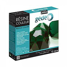 Suroviny - Krištálová živica Gedeo farebná Jade - zelená 150 ml - 6886383_