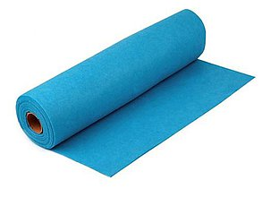 Textil - Filc-metráž, šírka 41 cm (sveto modrý) - 6888818_