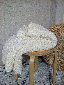 Úžitkový textil - Háčkovaná deka, prehoz - 6886892_