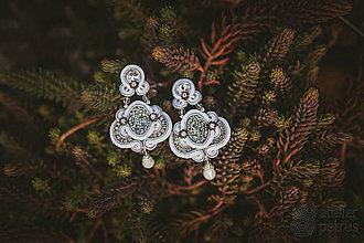 Náušnice - silver baroque* - 6892741_