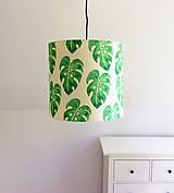 Svietidlá a sviečky - Kolekce Brazil - závěsné stínítko Listy - 6890915_
