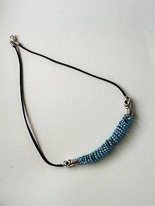 Náhrdelníky - jednoduchý náhrdelník  II - 6892063_