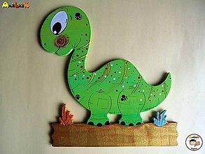 Tabuľky - Menovka - dinosaurus - 6892373_