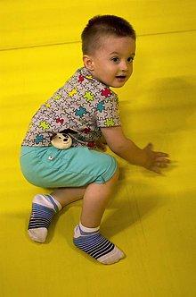 Detské oblečenie - Kraťasky pre deti s pískajúcou hračkou - 6891054  e7a8445de1e