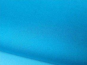 Textil - Tyrkysovo-modrá jednofarebná - 6894491_