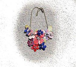 Náhrdelníky - letné flowers - 6895738_