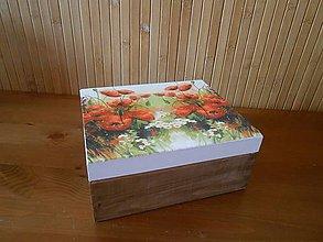Krabičky - maková na čaje - 6894950_