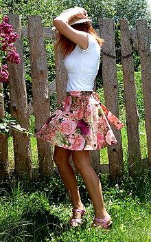 Sukne - Sukňa Rose Olivet digi - 6894723_