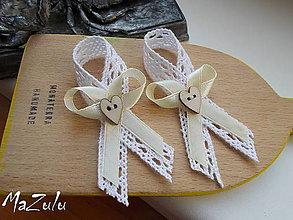 Pierka - vintage svadobné pierka - 6892751_