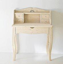 Nábytok - Písací stolík TOJEKUS - 6895429_