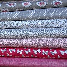 Textil - Ružovo sivá kolekcia - 6893100_