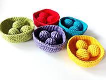 Hračky - Montessori farebná priraďovačka veľká #61 - 6893910_