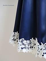 Sukne - elegantná sukňa s čipkou - 6893075_