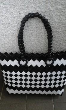 Veľké tašky - Bielo čierna elegancia 2 - 6893551_
