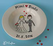 - Svadobný tanier - 6894302_