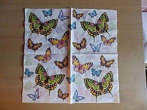 Papier - motýliky - 6894078_