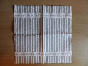 Papier - sivé pruhy - 6894086_