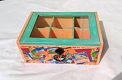 Krabičky - Krabička na čaj - šperky