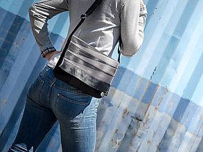 Kabelky - BAS 94-15 kabelka z bezpečnostních pásů - 6896224_