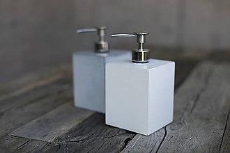 Nádoby - Betónový dávkovač mydla SAPONE - 6898518_