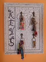 vintage vešiak na kľúče