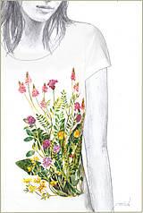 - Maľované tričko Lúka 2  - 6896009_