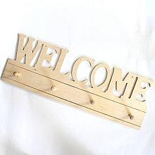 Polotovary - Veľký vešiak Welcome - 6896959_