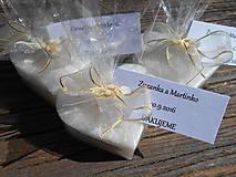svadobné sviečky s kartičkou/zabalené