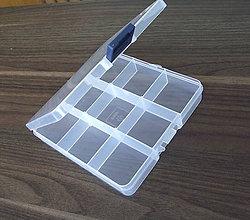 Pomôcky/Nástroje - Plastový organizér 13,5 x 14 x 2,3 cm - 6899805_