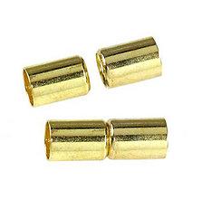 Komponenty - Magnetické zapínanie - Tipp tapp gold 6mm - 6899865_
