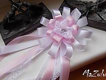 Pierka - svadobné pierko s čipkou II. - 6898876_