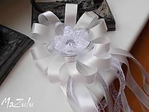 Pierka - svadobné pierko s čipkou III. - 6898892_