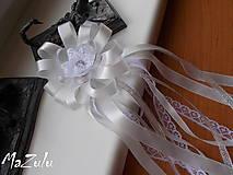 Pierka - svadobné pierko s čipkou III. - 6898894_