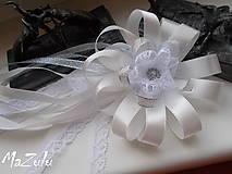 Pierka - svadobné pierko s čipkou III. - 6898896_